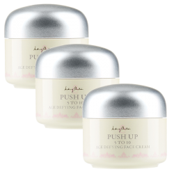 (TRIO PACK) PUSH UP 5 to 10 Age Defying Face Cream